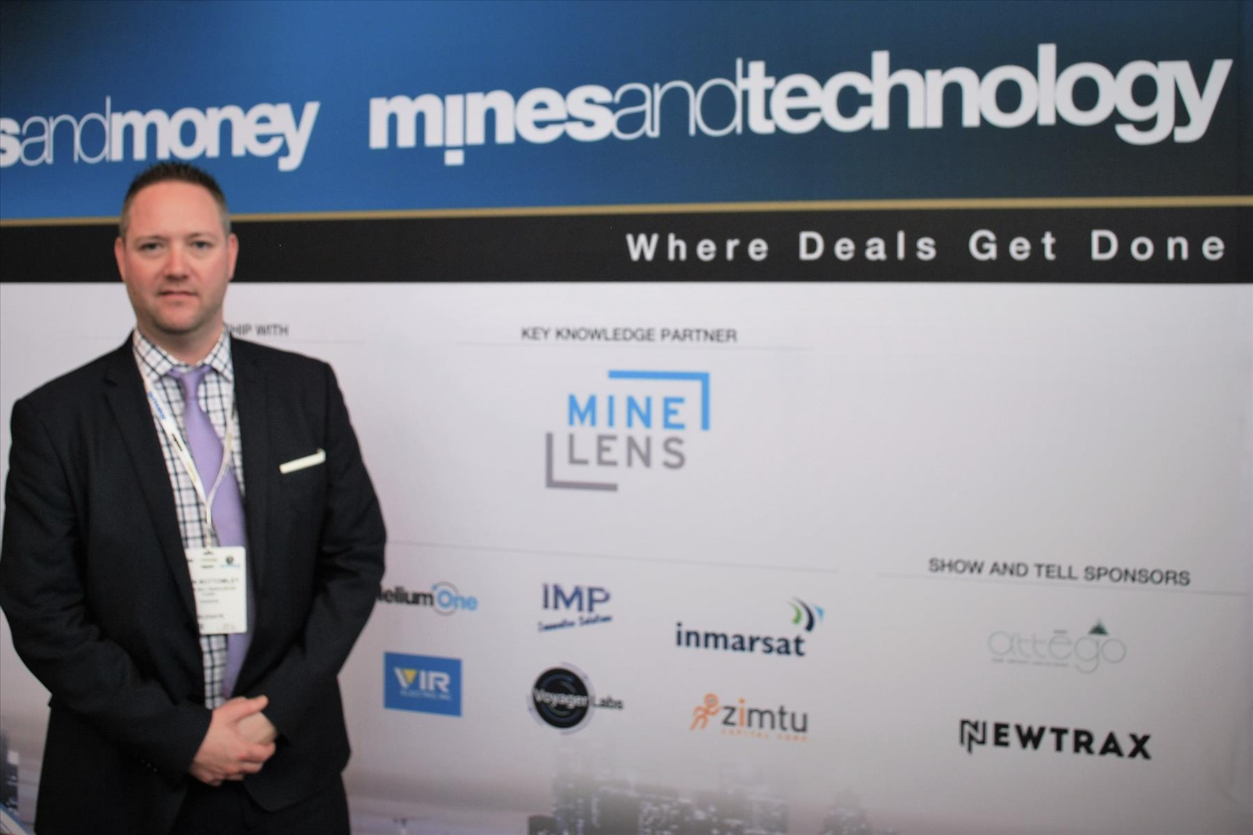 Kevin Bottomley at Mines and Money Americas 2017 in Toronto
